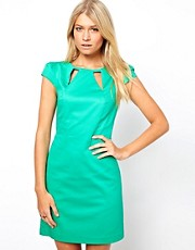 Oasis Cut Away Shift Dress