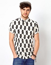 ASOS Shirt With Tribal Print