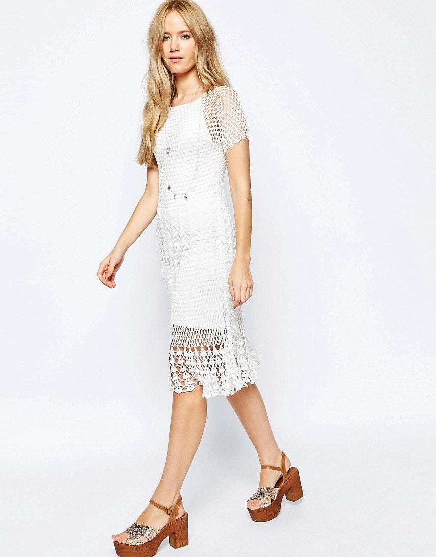 ASOS Revive Crochet Dress