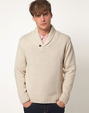 Common Sons Jumper With Shawl Collar