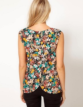 Image 2 of Oasis Bird Print Top