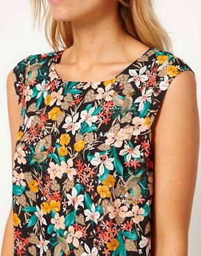 Image 3 of Oasis Bird Print Top