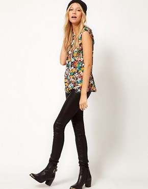 Image 4 of Oasis Bird Print Top