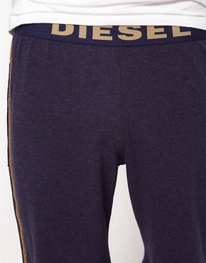Image 3 ofDiesel Logo Waist Band Lounge Shorts