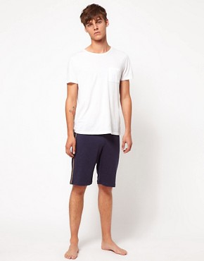 Image 4 ofDiesel Logo Waist Band Lounge Shorts
