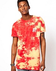 Altamont T-Shirt Tie Dye Logo Print