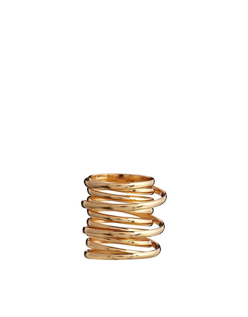 Image 2 of ASOS Chunky Coil Ring