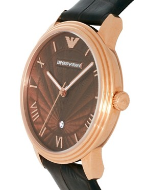 Image 4 ofEmporio Armani AR1613 Leather Watch