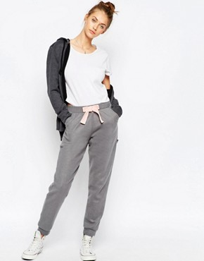 ASOS Super Soft Knitted Jogger with Velvet Bow