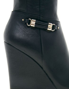 Image 2 ofRiver Island Wedge Over The Knee Boots