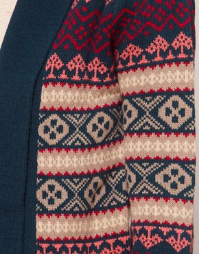 Image 3 ofA Wear Fairisle Edge Cardigan
