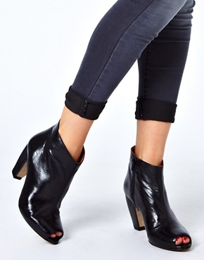 Image 3 ofASOS ANDES Leather Ankle Boots