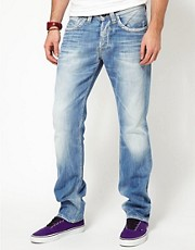 Vaqueros de corte slim con lavado claro Cash de Pepe Jeans