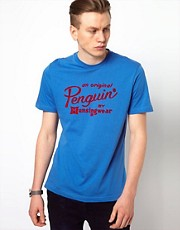 Camiseta con logo de pingino de Original Penguin