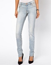 Mango Bleach Wash Skinny Jean