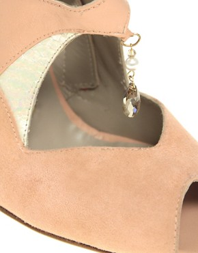 Image 3 ofCleo B Honeysuckle Suede Jewel Wedge Shoe Boot