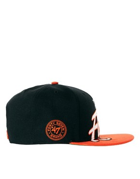 Image 4 of47 Brand Snapback Cap Philidelphia Flyers