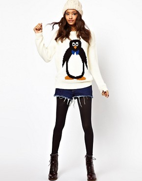 Image 4 ofASOS Penguin Jumper