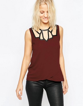 Greylin Onella Cut Out Vest