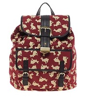 ASOS Rabbit Print Backpack