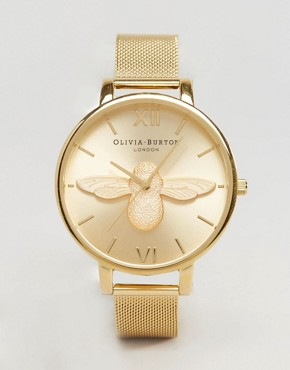 Olivia Burton Bumble Bee Gold Bracelet Watch OB15AM68