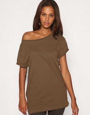 Image 1 ofASOS T-Shirt with Slouchy Boyfriend Fit