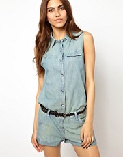 Rag &amp; Bone Dumont Cut Out Back Playsuit