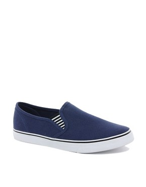 Image 1 of ASOS Slip On Plimsolls