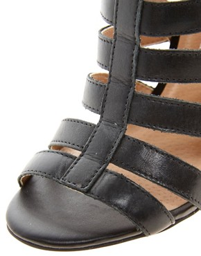 Image 3 ofRiver Island Olivia Caged Heeled Sandals