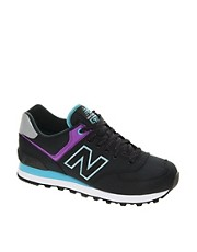 New Balance Windbreaker Black Trainers