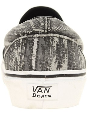 Image 4 ofVans Classic Slip-On Navajo Plimsolls