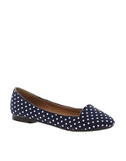 New Look Jot Polka Dot Slipper Shoes