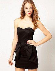 Coast Charlize Ottoman Bow Dress