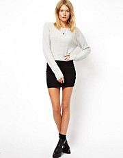 ASOS  Knapper Minirock