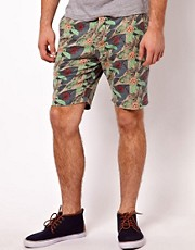 Paul Smith Jeans Shorts in a Floral Print
