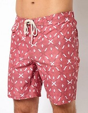 Analog Radio Boardshort 18&quot;
