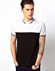 ASOS Cut And Sew Polo