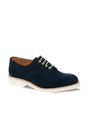 Image 1 ofTrickers Exclusive for ASOS Bourton Brogues