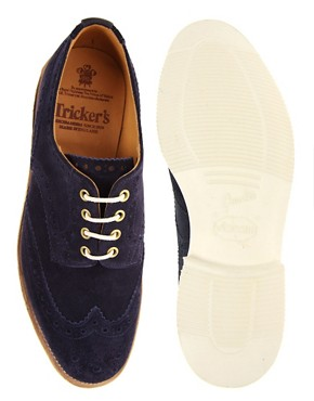 Image 3 ofTrickers Exclusive for ASOS Bourton Brogues