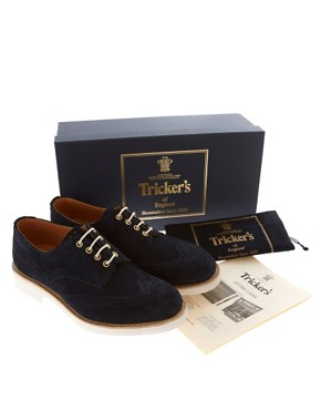 Image 4 ofTrickers Exclusive for ASOS Bourton Brogues