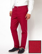ASOS Slim Fit Suit Trousers in Cotton