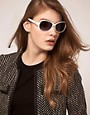 Image 3 ofCk by Calvin Klein Sunglasses With Metal Trim