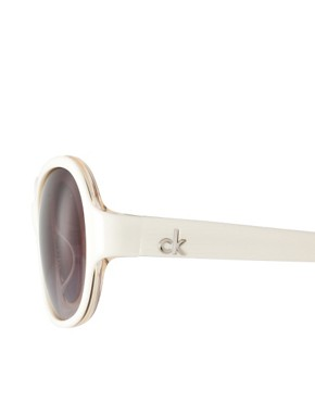 Image 4 ofCk by Calvin Klein Sunglasses With Metal Trim