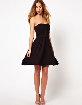 Image 4 ofDress Gallery Bandeau Mini Dress