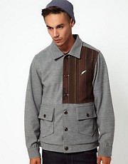 Publish Wool Jacket With Blanket Stripe