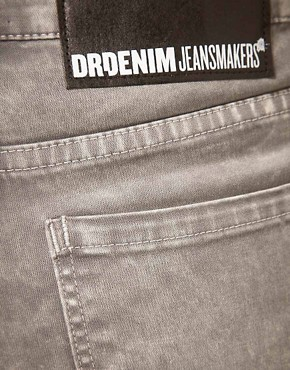 Image 3 ofDr Denim Snap Skinny Jeans
