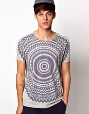 ASOS T-Shirt With Kaleidoscope Print