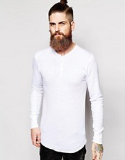 Top henley de American Apparel