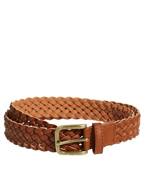 Image 1 ofASOS Plaited Belt