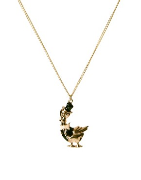 Image 1 ofAnd Mary Duck Charm Necklace
